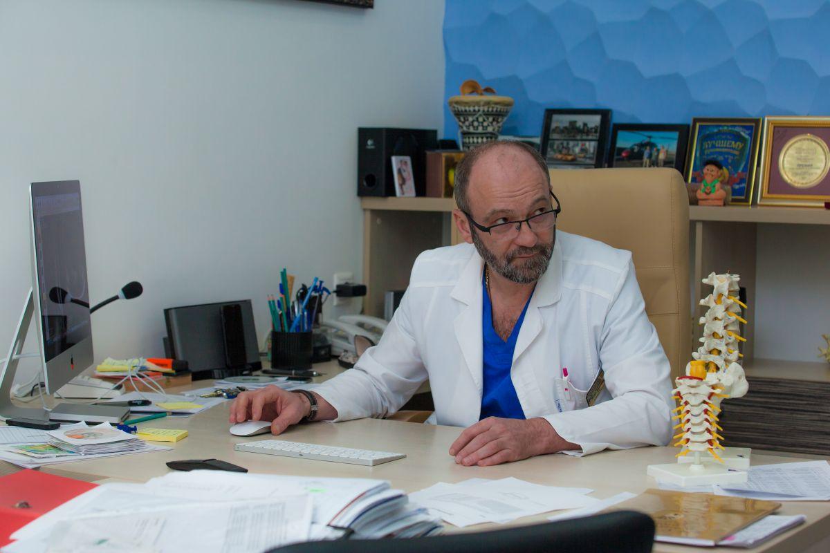 Игорь Басанкин: «Моя задача – возвращать людей к полноценной жизни без боли»